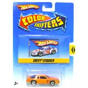Hot Whels - Color Shifters - Chevy Stocker - Mattel -25700