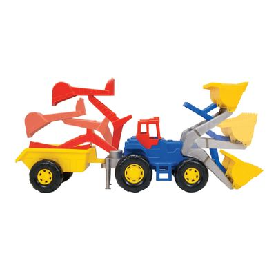 Trator Truck Super Azul - Magic Toys