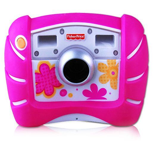 Maquina-Fotografica-Digital-Kid-Tough-Rosa-Fisher-Price---Mattel