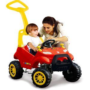 Smart-Car-Vermelho-com-Pedal---Bandeirante