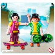 Playmobil-Blister-Com-2-Skatistas