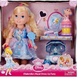 Princesas-Party-Playset-Cinderela---Long-Jump