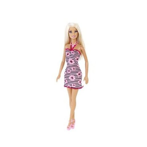 Barbie-Fashion-com-Colar-Rosa-Claro