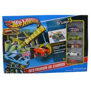 Hot-Wheels-Conjunto-Destruidor-com-5-Carrinhos