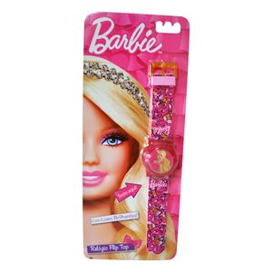 Barbie-Relogio-Flip-Top