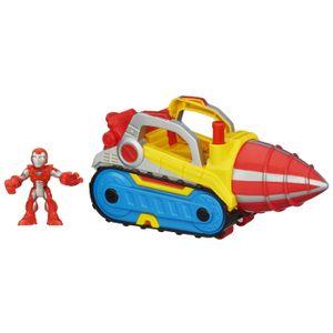 Playskool-Heroes-Marvel-Iron-Man-Veiculo-e-Boneco-Furadora-Repulsora---Hasbro
