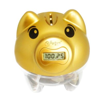 Cofre-Pig-Bank-Conta-Moedas-Dourado-Edicao-Limitada---In-Brasil