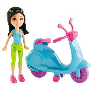 Polly-Pocket-Crissy-com-Scooter