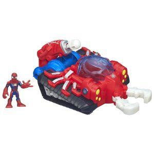 Playskool-Heros-Ve-culo-Super-Hero-Aracno-Tanque-e-Homem-Aranha