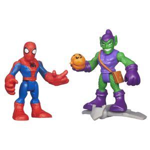 Playskool-Marvel-Super-Hero-Homem-Aranha-e-Green-Goblin