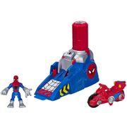 Playskool-Marvel-Super-Heroes-Homem-Aranha-com-Lancador