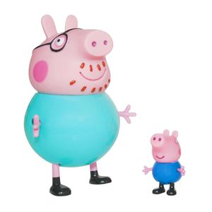 Familia-Peppa-Pig-George-e-Papai-Pig---Estrela