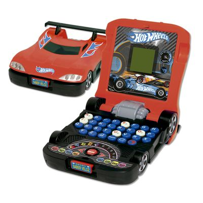 HOT-WHEELS-LAPTOP-JUNIOR-FORMATO-CARRO-VERMELHO
