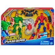 AVENGERS-SUPER-HERO-MASHERS-HOMEM-ARANHA-VS-DOC-OCTOPUS-EMBALAGEM