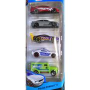HOT-WHEELS-PACK-5-POLICE-PERSUIT-EMBALAGEM