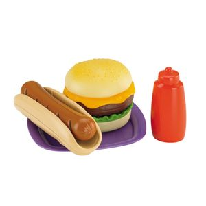 FISHER-PRICE-HAMBURGUER-E-HOT-DOG