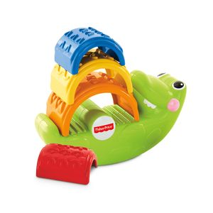 FISHER-PRICE-EMPILHA-JACARE