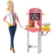 BARBIE-CONJUNTO-PROFISSOES-VETERINARIA
