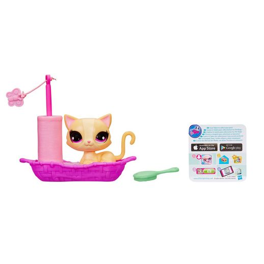 Littlest Pet Shop com Cenário Gato se Move