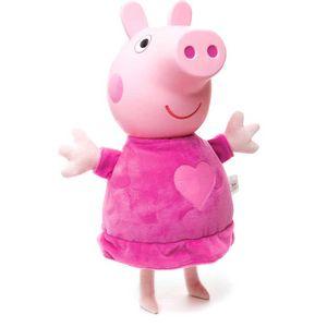 Peppa-Pig-de-Pijama-Cabeca-de-Vinil---Estrela