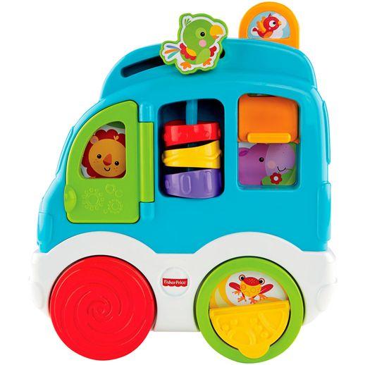 Fisher-Price-Sons-Divertidos-Carro-dos-Animais---Mattel
