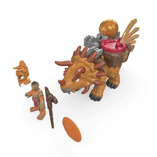 Imaginext-Dino-Novo-Triceratops---Mattel-