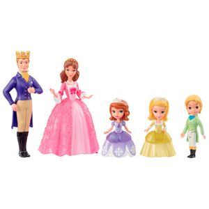 Disney-Sofia-Mini-Familia---Mattel-