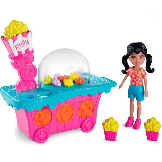 Polly-Parque-de-Diversoes-Banquinha-de-Pipoca---Mattel-