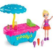 Polly-Parque-de-Diversoes-Carrinho-de-Sorvete---Mattel