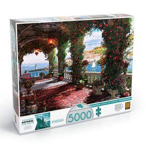 Quebra-Cabeca-5000-Pecas-Tarde-da-Varanda---Grow