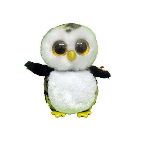 Pelucia-Baenie-Boos-Owliver-Pinguim-Branco-e-Amarelo---DTC