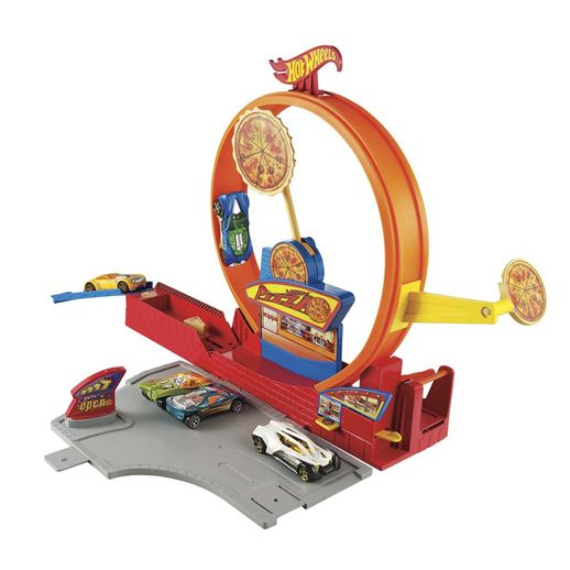 Hot-Wheels-Conjuntos-Pista-Super-Veloz-Pizza--Mattel
