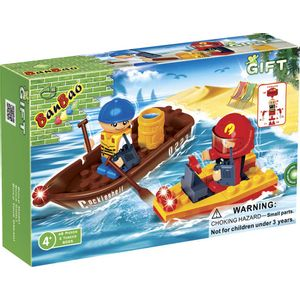 Barco-Serie-presente-48-Pecas---Banbao-