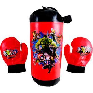 Vingadores-Kit-Boxe-com-Luvas-e-Saco-de-Boxe---Toyng