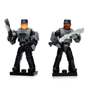 Mega-Blocks-Halo-Armaduras-Custom-Police---Mattel