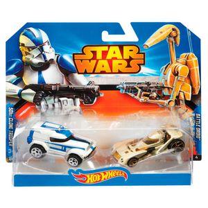 Hot-Wheels-Star-Wars-Clone-Trooper-Vs.-Battle-Droid---Mattel