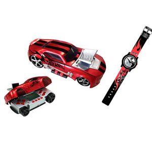 Minigame-Hot-Wheels-Max-Turbo-Vermelho-com-Relogio---Candide