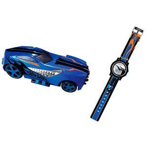 Minigame-Hot-Wheels-Max-Turbo-Azul-com-Relogio---Candide