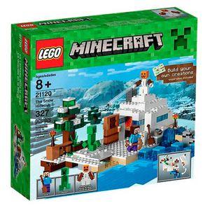 Lego-Minecraft-O-Esconderijo-da-Neve---LEGO