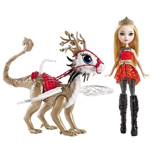 Ever-After-High-Apple-White-com-Dragao---Mattel