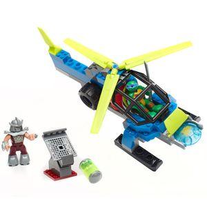 Mega-Bloks-Tartarugas-Ninja-Helicoptero---Mattel-