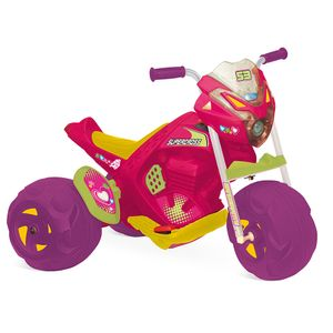 Moto-Supercross-Rosa-Eletrica-6V---Bandeirante
