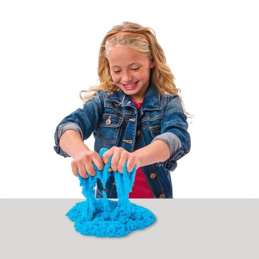 Massa-Areia-Kinetic-Sand-Colorida-Azul---Sunny