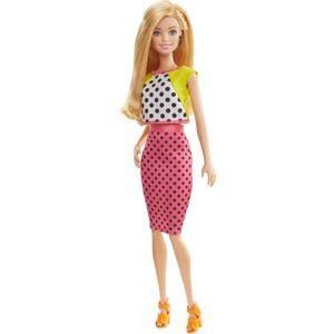 Barbie-Fashionista-Saia-Rosa---Mattel-