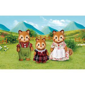 Familia-dos-Pandas-Vermelhos-Sylvanian-Families---Epoch-Magia