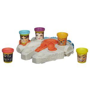 Play-Doh-Conjunto-Star-Wars-Millenium-Falcon---Hasbro
