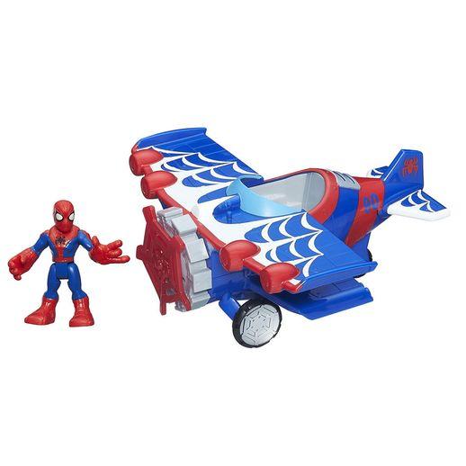 Playskool-Heroes-com-Veiculo-Aviao---Hasbro