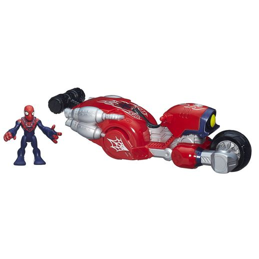 Playskool-Heroes-Com-Veiculo-Moto---Hasbro-