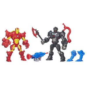 Hero-Mashers-Pack-Iron-Man-vs-Ultron---Hasbro