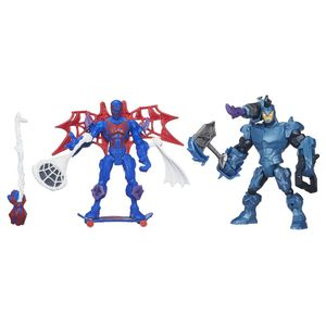 Hero-Mashers-Pack-Spider-Man-vs-Rhino---Hasbro